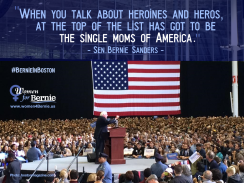 Bernie-SingleMoms